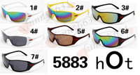 Wholesale Cycling Riding Bicycle Sports Protective - 2017 -brand Bicycle Sports sunglasses Cycling Eyewear Cycling Riding Protective Goggle cool cycling glasses sunglasses A+++ free ship 5883