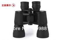 Wholesale Binoculars Army - 20X Waterproof Binoculars 20*50 BIJIA Army Green & Black High Power Telescope BAK4 Optical Lens Night Vision For Hunting