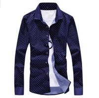 Wholesale Boys Designer Shirts - Wholesale-New Designer Fashion Shirt Man Long Sleeve Cheap Leisure Famous Brand Men Shirts 2016 3XL For Men And Boy