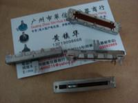 ingrosso potenziometro dritto-All'ingrosso- [BELLA] Fuhua da 4,5 cm di banda a metà punto scorrevole doppio potenziometro dritto B100K - 10PCS / LOT
