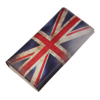 Wholesale British Money - Wholesale- Fashion Long Purse For Women Wallets British Flag Pattern Women's Clutch Wallet Bag Coin Card Holder Female Money Bag Hot Sale