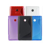 Wholesale Lg Optimus L3 Blue - Ultra Thin S Line Soft Plastic Matte Silicone Soft Case Cover For LG Optimus L3 e400