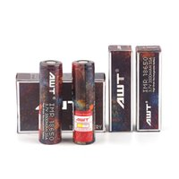 Wholesale Top Ecig Batteries - 100% Top Hight Quality Clone AWT 18650 Battery 3000mAh 40A 3500mAh 35A 3.7V Rechargeable Battery Vape Ecig Box mods