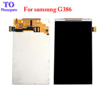 Wholesale track tracking number online - LCD Display Screen Panel Monitor Module Tracking Number For Samsung Galaxy Core G G386 G386F G386T