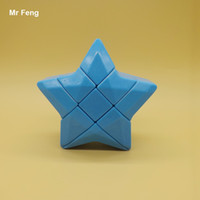 Wholesale Iq Puzzle Solutions - Magic Cube Star Blue Sticklerless Interesting IQ Puzzle Solutions