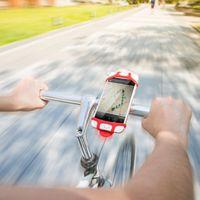 mobiler navigationsstand großhandel-Flexibler Fahrrad-Telefon-Halter für iPhone 7 6 Samsung 4-6 Zoll Fahrrad-Berg-Handy-Halter-Stand-Stütznavigation GPS