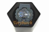 Wholesale Cowboy Watches - Cowboy dark blue GA110 Top quality relogio men's sports watches,Luxury brand men watch LED chronograph wristwatch,military watch
