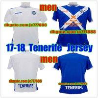 Wholesale Victor Shirt - Thai quality 2017 18 CD Tenerife Camiseta Primera Equipación soccer Jerseys Home Away Juan Villar Jersey Victor Casadesus football shirt