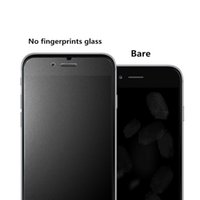 Wholesale Screen Protector Iphone5 Matte - For iphone7 7plus 9H Tempered Glass Matte Anti-Glare Screen Protector Film No fingerprints Shading effect for iphone5 5S SE i6 6S plus