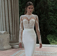 Wholesale Ms Prom Dresses - New Spring Backless Evening Prom Dress 2016 White Ms Host Party Dresses Long Cultivate One Morality Show Thin Tail Long Sleeve