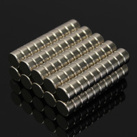 Wholesale Neodymium 6mm - 100pcs N52 6mm x 3mm Strong Cylinder Magnet Rare Earth Neodymium Magnet