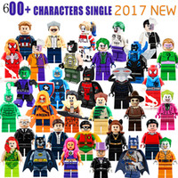 Wholesale Blocks Figures - 600+ Building Blocks Super Hero Figures Toys The Avengers Toys Joker Toys mini Action Figures Bricks minifig Christmas gifts