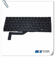 "Wholesale Ibm Laptop Keyboard - Wholesale Brand NEW Original Laptop pro retina A1398 keyboard Russia Version 15"" built in for MBP"
