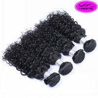 Wholesale Brazilian Hair Weaves Sale - Clearance Sale!! Brazilian Jerry Curly Human Hair Weaves Peruvian Malaysian Indian Curly Human Hair Bundles Tangle Free