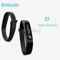 Wholesale Outdoor Brand Systems - Bluetooth Smart Wristband BitHealth Z2 Brand Tracking Sleep Tracking Call Alert Smart Bracelet Smart Watch for Android iOS-Apple System