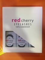 Wholesale Handmade Sales - Factory direct export red cherry Eyelash 12pcs Lot red cherry handmade false eyelashes Beauty Sale Free shining