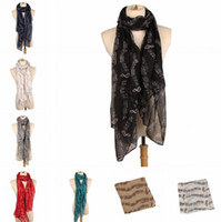 Wholesale music shawl for sale - Group buy New Fashion Music Note Sheet Music Piano Notes Script Print Scarves Infinity Scarf shawl wrap for women factory sale S662