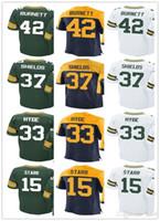 Wholesale Bart Shorts - custom Green Bays Men Women Youth Jersey Packer #42 Morgan Burnett 15 Bart Starr 37 Sam Shields 33 Micah Hyde Jerseys