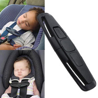 Wholesale Harness For Baby Car Seat - 10 Pcs lot Brand New Black Car Safety Seat Strap Belt Harness Chest Child Clip Safe Buckle for Baby Free Shipping[CD12052*10]