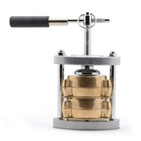 Wholesale brass machine parts for sale - Group buy New Dental Bronze Lab Spring Press Compress With Upper Lower Flask LABORATORY BRONZE PORTABLE SPRING PRESS COMPRESS LOWER FLASK MACHINE