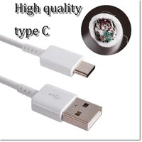 Wholesale chinese woven wire online - brand new type C data cable with IC protection and weaving protection wire and Al Mylar for note le TV cheap one also in stock