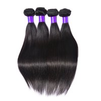 Wholesale Rain Weave - Best Bellqueen Kiss Rain Hair 8A Brazilian Hair Silky Straight Weave 4Pcs lot Brazilian Straight Human Hair Extension No Smell