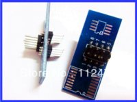 Wholesale Soic Pomona - Free shipping!!! Programmer Testing EEprom Clip SOIC8 Pomona SOIC 8 pin Clamp with Cable for Tacho Universal DASH Programmer