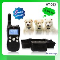 Wholesale Dog Remote Sound - The new remote pet discipline, shock, vibration, sound, lighting mail 4 in 1 pack