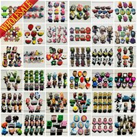 Wholesale Wholesale Croc Shoes - Wholesale-Free DHL Shipping for Wholesale 1000PCS High Quality Cartoon PVC Shoe Charm Croc Costumes Accessorie Cosplay Shoes Jibbiz