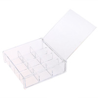 Clear Acrylic Cosmetic Organizer Drawer Maquillage Boîte de rangement Box Nail Jewelry Box Box Prix de gros
