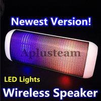 Mini Bluetooth Wireless Lautsprecher Tragbare Musik Responsive mit Streaming LED Lichter für Samsung iPhone 6 6s SE iPad Auto MP3 Tablet Universal