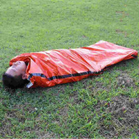 Wholesale Goose Camping - Outdoor Sleeping Bags Portable Emergency Sleeping Bags Light-weight Polyethylene Sleeping Bag for Camping Travel Hiking