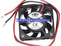 Wholesale 4cm Fan - Top Motor 4cm DF1204SH 0.08A DF126020SL 6cm 0.18A 2Wire 12V Cooling Fan