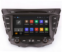 Wholesale Car Stereo Tv Hyundai - Android 5.1 Car DVD Player GPS Navigation for Hyundai Veloster with Radio BT USB AUX Video Stereo WIFI 1024*600 4Core