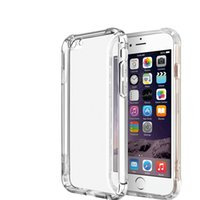 Wholesale Crystal Fund - Shockproof Crystal Soft TPU Cover for Iphone 6 plus Case Clear Slim Silicone Capa 7 7 plus Coque Cases Fund