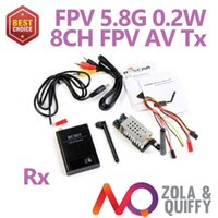 Marke neue 2014 FPV 5,8 GHz Audio Video Wireless Sender Empfänger Kit 200 mW 2 km 8ch Flugzeug