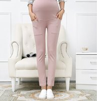 Wholesale Trousers For Pregnant - Maternity Pants&Capris Skinny pregnancy Pants Maternity trousers For Pregnant Women Pregnancy pregnant trousers 5 P L