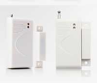 Wholesale 315mhz Window Sensors - Wireless Home Door   Windows sensor For House Security Burglar GSM   PSTN Alarm System 315MHz 433MHz