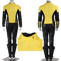 Wholesale Costumes Class - New Custom Made American Movie X-Men: First Class Charles Xavier Professor X Class Erik Lensherr Magneto Cosplay Costume