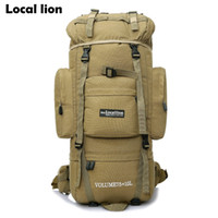 Wholesale professional hiking resale online - HOT L Professional Climbing Backpack Outdoor Sport Hiking Camping Backpack Travel Mountaineering Bags Men s Tactical Backpack