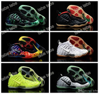 Wholesale Penny Hardaway Basketball Shoes - 2016 New Olympic USA High Quality Basketball Shoes Galaxy Air Hologram Penny Hardaway Running Shoes Men And Women Foams Sports Sneakers