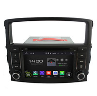 Wholesale Dvd Car Mitsubishi Pajero - Android 5.1 In Dash Car DVD Player for Mitsubishi Pajero V97 V93 Montero with GPS Navigation Radio BT USB AUX WIFI Stereo
