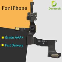 iphone cephe kaplama kamerası toptan satış-Yüksek Kaliteli Ön Bakan Kamera Için Yakınlık Işık Sensörü Flex Şerit Kablo iPhone 5 5 s 5c 6 6 S Artı 4.7