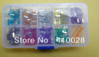 Wholesale micro car amp resale online - 90PCS micro Mini Assorted Car Blade Fuse AutoTruck SUV Fuses AMP With Box A A A A A A A A