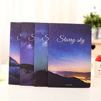 Wholesale Beautiful Books - Wholesale-New Fashion Beautiful Starry Sky Milky Way Notebooks Travel Journal school students' note book Girl gift 369