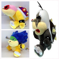 Ludwig Roy Morton Koopa 8 polegadas 20 centímetros Super Mario Bros Plush Dolls Stuffed Animals Plus Presentes Hot Venda Nova Atacado