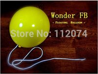 Vente en gros - Wonder Floating Balloon (DVD + GIMMICK) - Magic Trick, FB Magic Balloon, Props, Stage, Illusion, Comédie