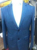 Wholesale Suit Men S 58 - Wholesale-Free shipping 2016 new arrived 2pcs botton man suits business or party style 2 open back side size 46(S)- 4XL(58)-