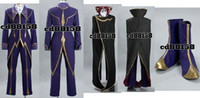 Wholesale Code Geass Lelouch Cosplay Costume - Code Geass Zero Lelouch Cosplay Costume Custom Made
