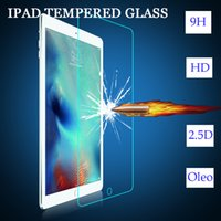Wholesale Ipad For Sell - Tempered glass Screen protector Ipad apple For ipad mini 2 3 4 air 0.4MM 2D factory direct selling price Lightning delivery